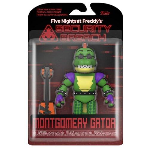 Подвижная фигурка Аллигатор Монтгомери 5 ночей с Фредди фнаф (Five Nights at Freddy's Security Breach Montgomery Gator)