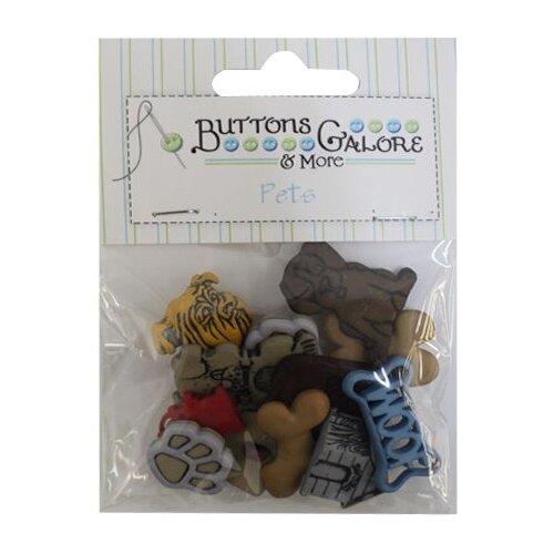 Купить 4430, Пуговицы. Собаки, Buttons Galore & More