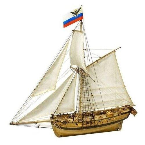 Сборная модель Тендер Авось, Масштаб 1:72, MK0303P