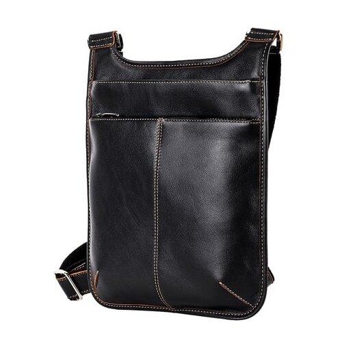 сумка планшет dclears натуральная кожа черный Сумка планшет FABULA, натуральная кожа, черный