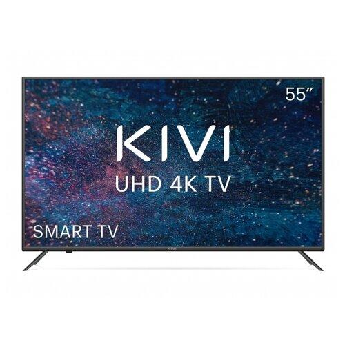Фото - Телевизор KIVI 55U600KD 55 (2020), черный led телевизор kivi 40f710kb