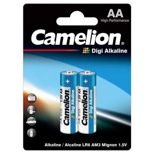 Фото - Батарейка Camelion DIGI Alkaline AA, 2 шт. батарейка camelion lr23a 1 шт
