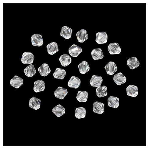 Купить Z-439 Бусины стеклянные, 6*6 мм, упак./30 шт., 'Астра' (851), Astra & Craft, Фурнитура для украшений