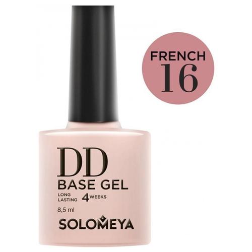 Купить Solomeya базовое покрытие DD Base Gel суперэластичное 8.5 мл French 16
