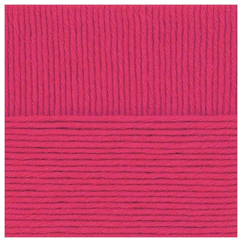 Пряжа для вязания ПЕХ Зимняя премьера (50% мериносовая шерсть, 50% акрил) 10х100г/150м цв.049 фуксия