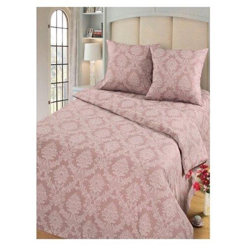 Комплект постельного белья Миланика, Топаз Жаккард, 2-спальное, тип ткани поплин, состав: хлопок 100%.