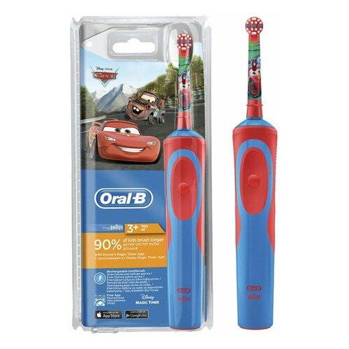 """Зубная щетка электрическая детская ORAL-B (Орал-би) серия """"Тачки"""" 3+ лет D12.513K 53019193 1 шт."""