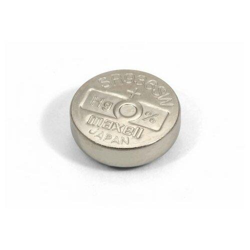 Фото - Батарейка оксид-серебряная MAXELL SR936 SW (380, 394F, SR45, G9) батарейка maxell sr 621sw 1 шт