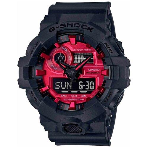 Японские наручные часы Casio GA-700AR-1AER мужские кварцевые