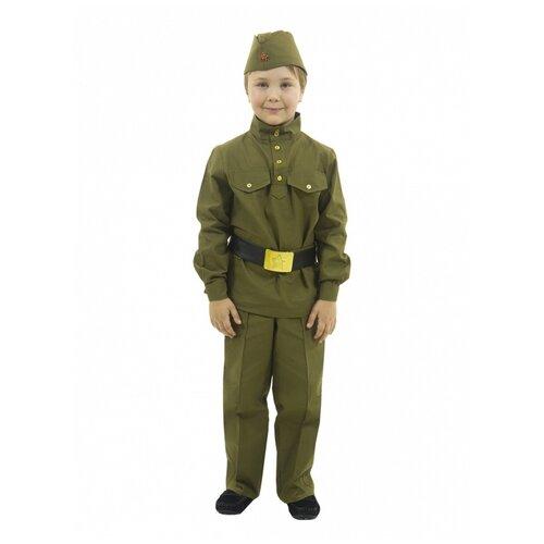 Купить Гимнастерка с прямыми брюками (8252), 104-110 см., Вестифика, Карнавальные костюмы