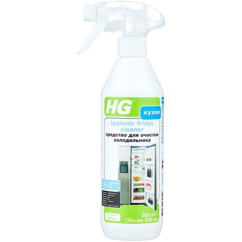 Фото - Жидкость HG для гигиеничной очистки холодильника 500 мл очиститель hg для душевой и ванной 500 мл