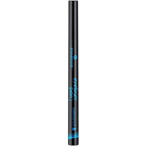 Essence Подводка для глаз Eyeliner Pen Waterproof, оттенок 01 deep black подводка для глаз super fine eyeliner pen 1мл black