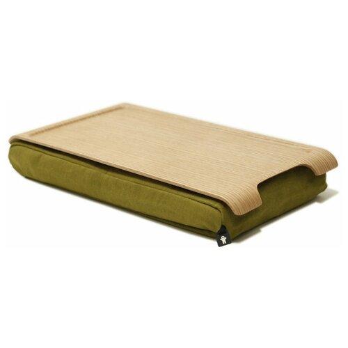 Подставка для ноутбука Bosign Laptray Mini Wood natural/olive green