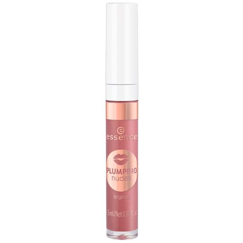 Купить Essence Блеск для губ Plumping Nudes Lipgloss, 04 That's Big