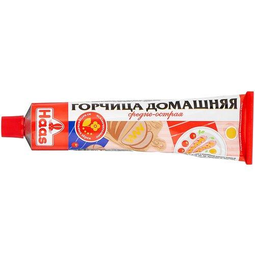Фото - Горчица Haas Домашняя, 200 г горчица русские закуски жгучая 200 г