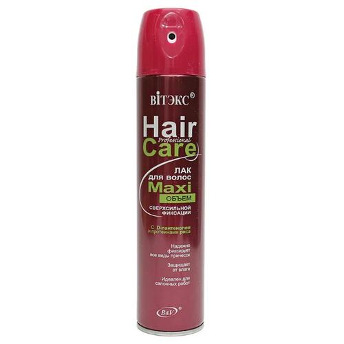 Купить Витэкс Лак для волос Maxi объём, экстрасильная фиксация, 300 мл
