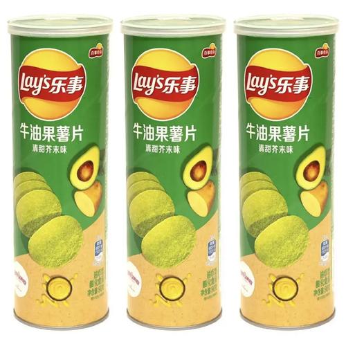Фото - Чипсы Lay's stax авокадо и васаби 90гр х 3шт. чипсы lays вкус васаби и авокадо 90г