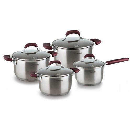 Набор посуды Rondell Bojole RDS-824 8 пр. стальной