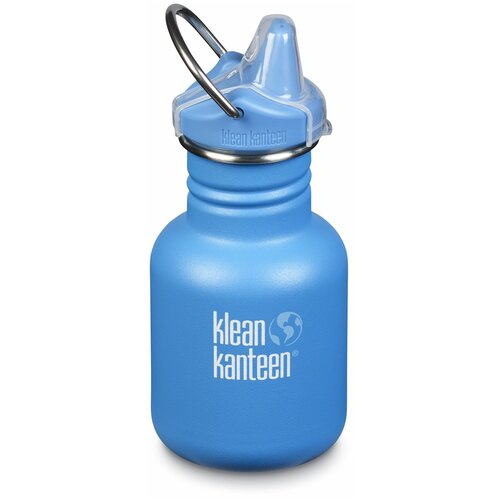 Детская бутылка Klean Kanteen Kid Classic Sippy 12oz (355 мл) Pool Party матовая