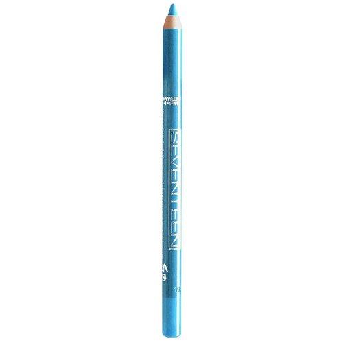 Seventeen Карандаш для век Supersmooth Waterproof Eyeliner, оттенок 17 Turquoise