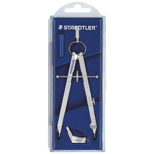 Staedtler Готовальня Mars Comfort 551 3 предмета (551 01) синий/серебристый