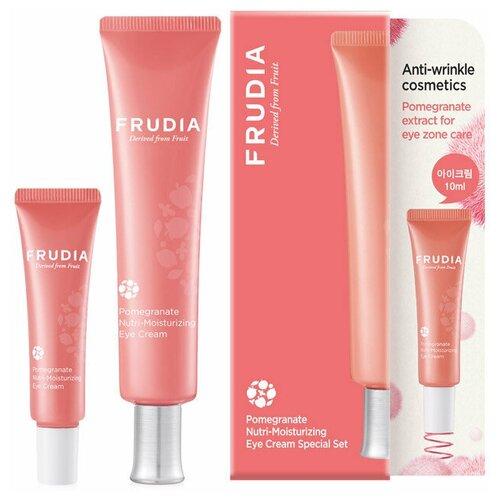 Купить Frudia Набор питательных кремов для глаз с экстрактом граната Pomegranate Nutri-Moisturizing Eye Cream Special Set, 50 мл, 2 шт.