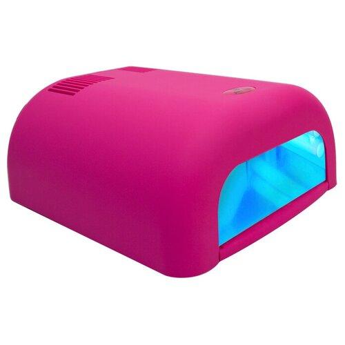 Купить Лампа UV planet nails 36W ASN Tunnel, 36 Вт велюр розовая