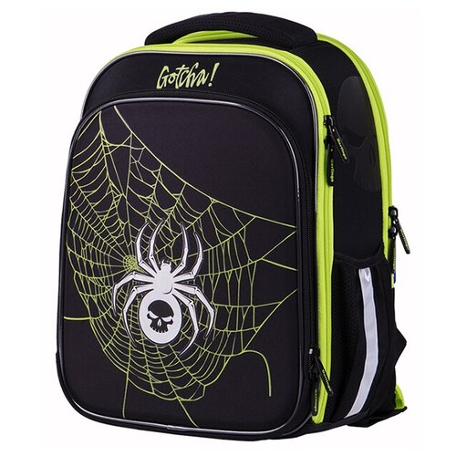 Купить Berlingo ранец Expert Plus Net, зеленый/черный, Рюкзаки, ранцы