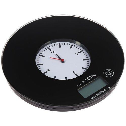 Кухонные весы Luazon LVK-508/LVK-703 черный