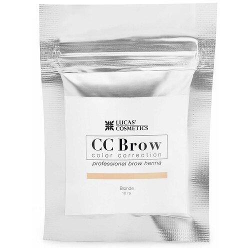 Фото - CC Brow Хна для бровей в саше 10 г blonde cc brow хна для бровей в саше 10 г blonde