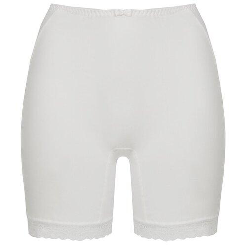 Alla Buone Трусы панталоны высокой посадки, размер 4XL(56), белый