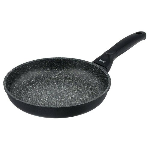 Сковорода Risoli Granito 00103GR/28HS, 28 см, черный сотейник risoli granito 28 см