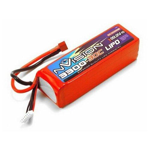 Купить Аккумулятор NVision NVO1816 красный, Комплектующие и аксессуары для машинок и радиоуправляемых моделей