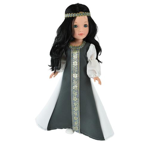 Купить Кукла Vidal Rojas Пепа черноволосая в национальном платье (в подарочной коробке), 41 см, 4516, Куклы и пупсы