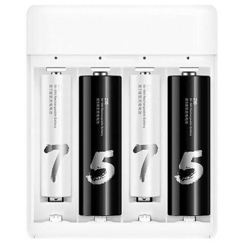 Фото - Аккумуляторная батарея Xiaomi ZI5 AA 4 шт аккумуляторные батарейки xiaomi zmi zi5 aa aa512 4шт в упак 1700 мач