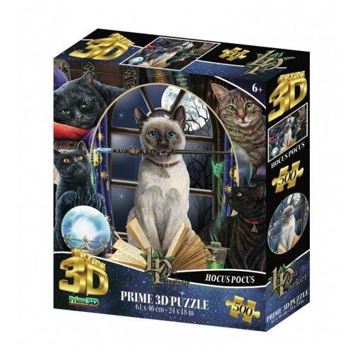 Купить Пазл Prime 3D Super Коллаж Магия кошек 500 элементов, Пазлы