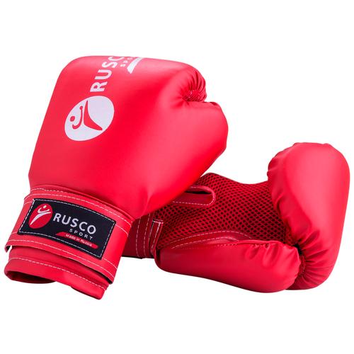 Боксерские перчатки RUSCO SPORT 4-10 oz красный 10 oz