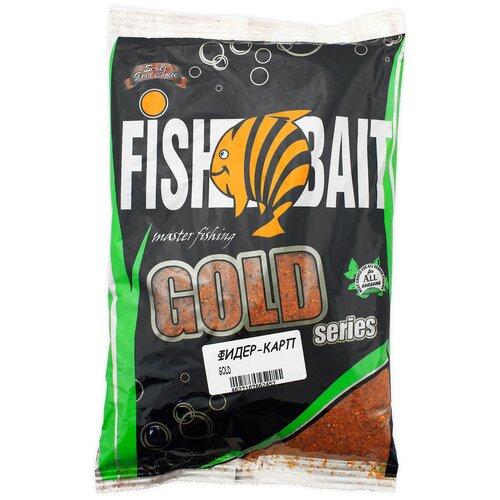 Прикормочная смесь FishBait Gold Фидер Карп 1000 г