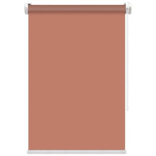 Рулонная штора FixLine Basic (терракотовый), 75х180 см