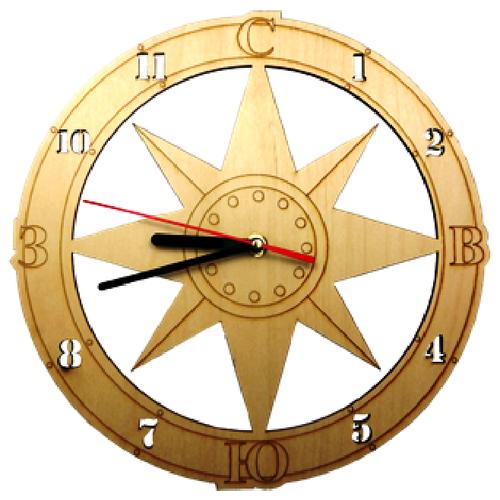 Часы настенные Компас