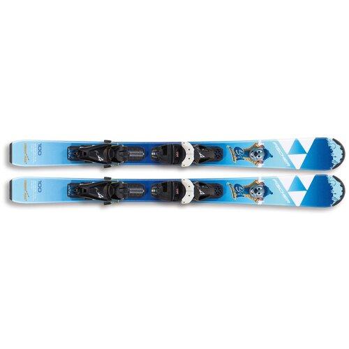 Горные лыжи детские с креплениями Fischer Europa Park SLR (19/20), 110 см