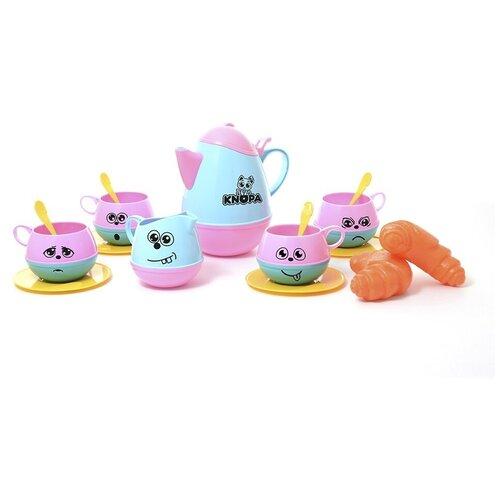 Набор продуктов с посудой Knopa Веселое чаепитие 87026 разноцветный