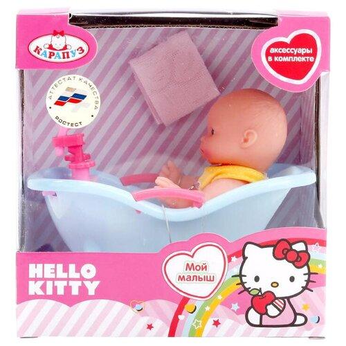 Пупс Карапуз Hello Kitty, 10 см, B1118261-RU-HELLO KITTY
