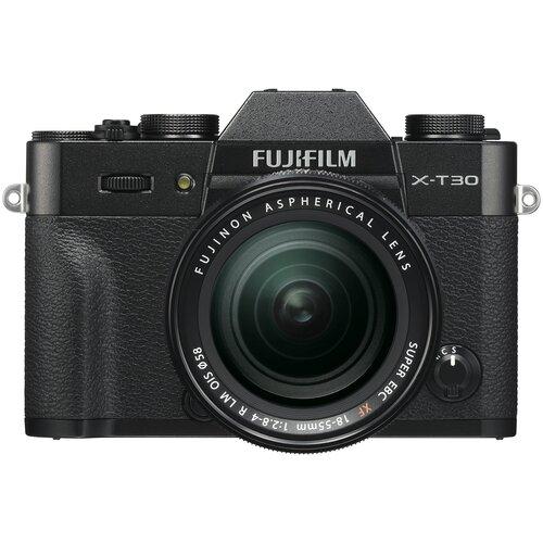 Фото - Фотоаппарат Fujifilm X-T30 Kit черный 18-55mm f/2.8-4 R LM OIS цифровой фотоаппарат fujifilm x pro3 body dr silver