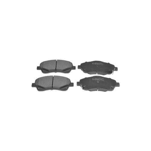 NIBK pn1233 (0446505 / 0446505130 / 0446505131) колодки тормозные дисковые Toyota (Тойота) Corolla (Корола) 1.6 2004 - 2009 Toyota (Тойота) Avensis (Авенсис) 1.8 2003 - 2008 Toyota (Тойота) av