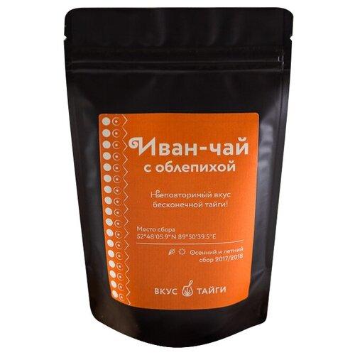 Чай травяной Вкус Тайги Иван-чай с облепихой, 50 г чай травяной сибирский иван чай с облепихой 100 г