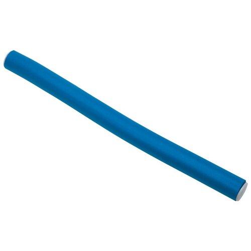 Фото - Бигуди-бумеранги DEWAL Pro BUM14180 (14 мм) 10 шт. синий бигуди бумеранги dewal оранжевые d18ммх150мм 10 шт уп dewal mr bum18150