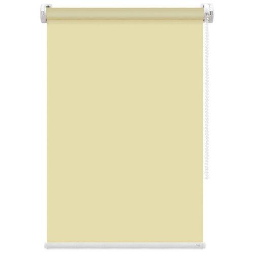 Рулонная штора FixLine Basic (желтый), 70х180 см