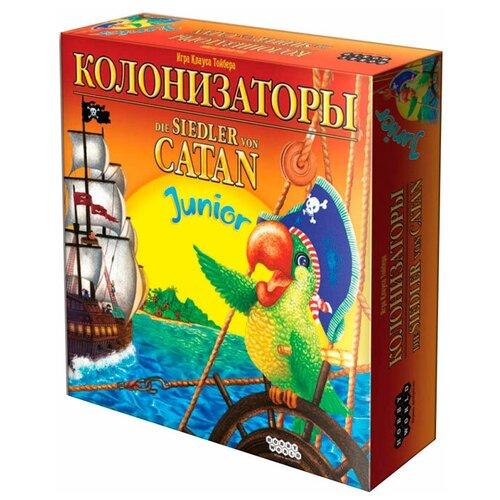 Настольная игра HOBBY WORLD Колонизаторы Junior (старая версия)