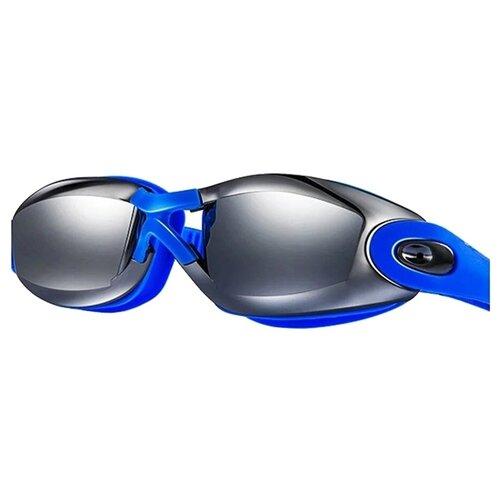 Очки для плавания Wave 001033, синий очки для плавания mad wave spurt rainbow azure white
